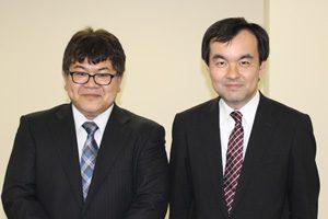 国土交通省の和田課長と佐々木運営委員